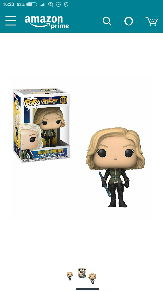 Funko Pop - black widow