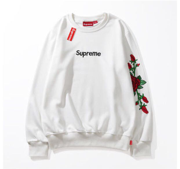 Supreme hooded flower off-white 2018
