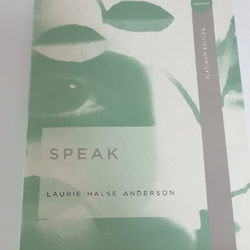 ספר-באנגלית:-Speak---Laurie-Halse-Anderson